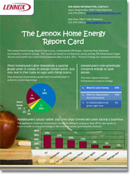 Home Energy Report Card Fact Sheet