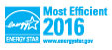 Most Efficient ENERGY STAR certified