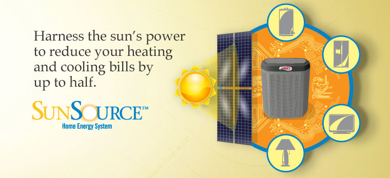 Harness the sun's power to reduce your heating and cooling bills by up to half.