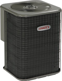 lennox merit 14acx. the a/c is merit line. compare construction of it to american standard units. lennox\u0027s elite line much better built and more in with lennox 14acx